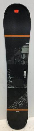 Placa snowboard ELAN RS rocker 145 cm