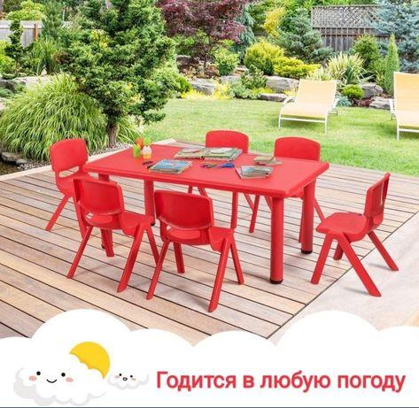 Детские столы прочные новые
