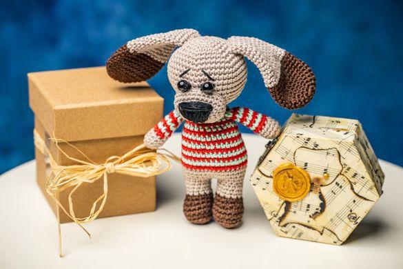 Плетени играчки на една кука-Кученце и Кенгуру Ру