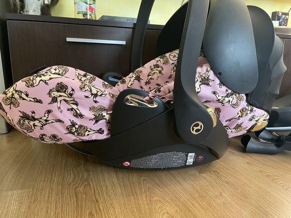 Cybex Cloud Z i-size Jeremy Scott Cherubs Pink кош за кола