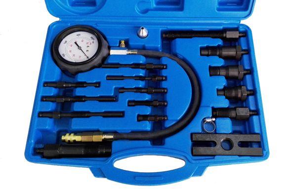 Комплект за измерване на компресия на дизелови двигатели, 50196