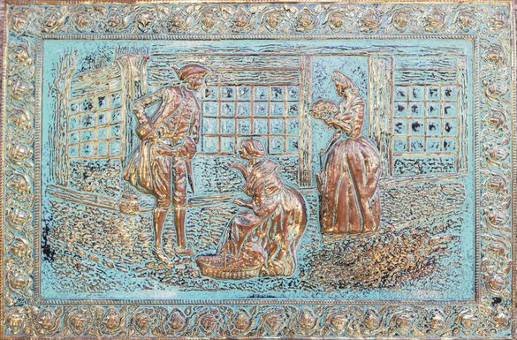 Антична бронзова картина