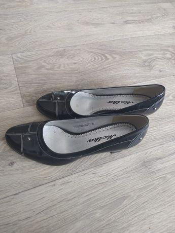 Туфли, кожа, лакированные