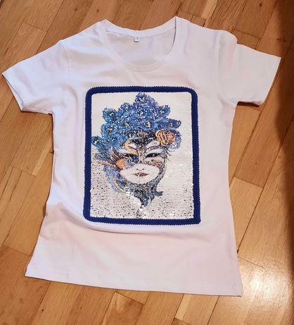 Дамски тениски ръчна декорация.