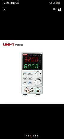 Лабораторный блок питание UNI-T 32 вольт 6 ампер