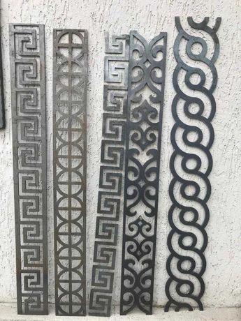 Bordura decorativa din tabla decupata