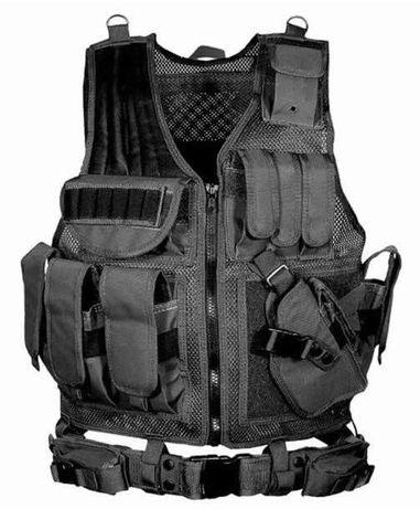 Висококачествена модулна тактическа полицейска (военна) жилетка