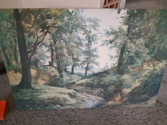 Картина принт 1974 г.