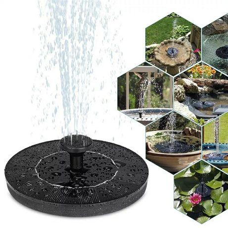 Соларен фонтан с 4 разпръсквача