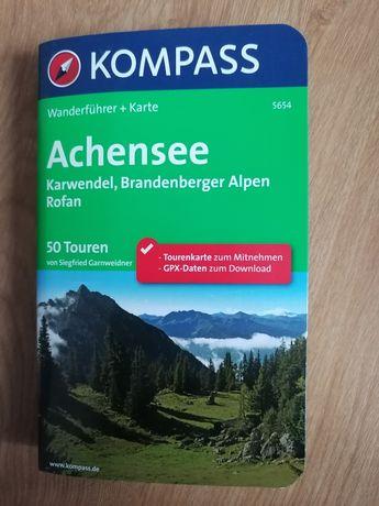 Карта на района Ахензее (Achensee) в Австрия