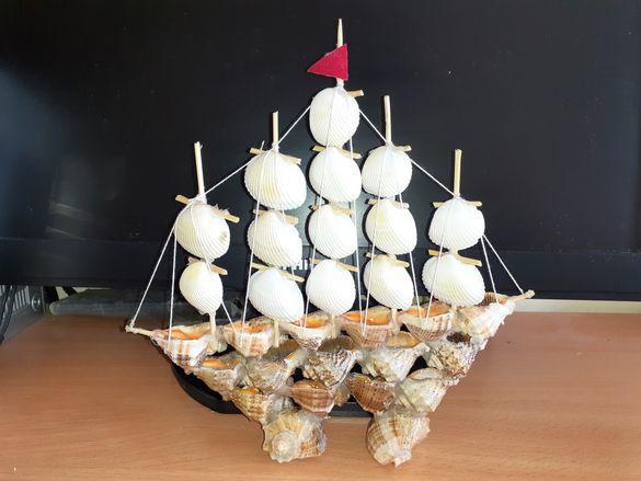 Кораби от рапани с миди