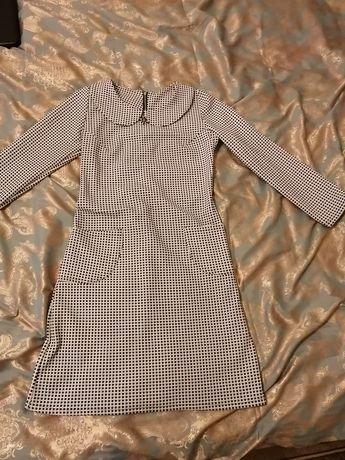 Платье плотный материал