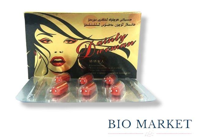 Препарат для повышения женского либидо таблетки Daintly Woman