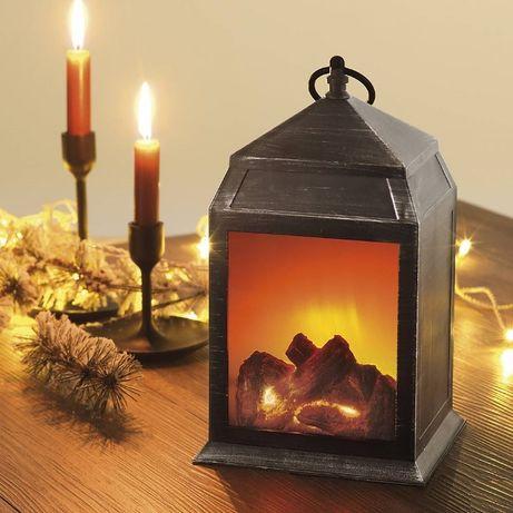 LED Lantern фенер с камина ефект