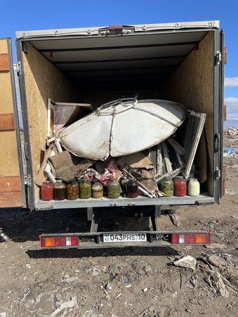 Вывоз хлама мусора с домов квартир старые диваны