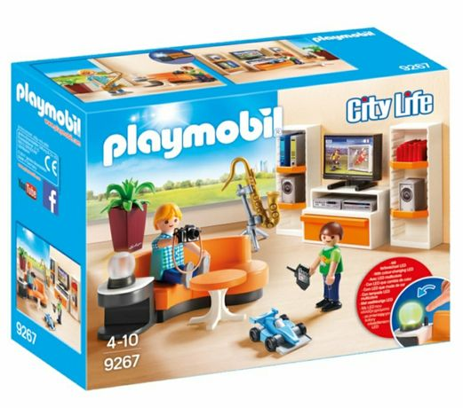 "Playmobil  City Life 9267 "" Sufrageria """