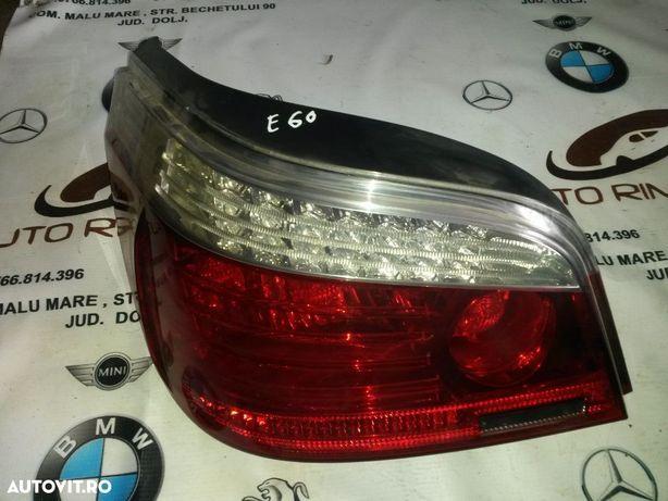 Tripla Stop LED BMW Seria 5 E60 facelift stanga dreapta 5 2007-2010