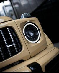 Передняя оптика на Mercedes Benz W463