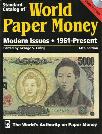 Super oferta Catalog numismatic de bancnote carte 980 pagini