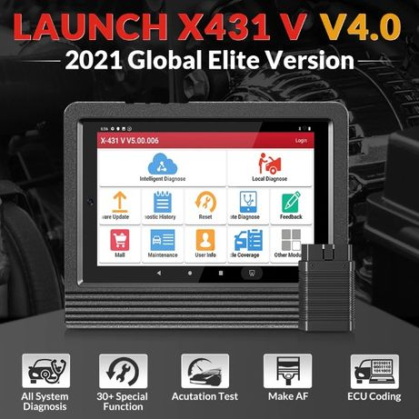 Tester auto multimarca profesional LAUNCH X431 V 8 inch V4.0 -- 2021