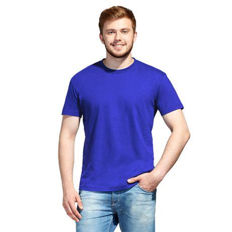 Однотонные чистые х/б футболки под нанесение оптом и в розницу