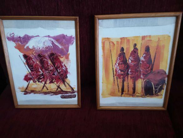 Продавам африкански  картини