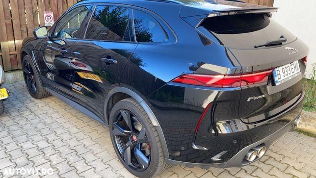Jaguar F-Pace Jaguar F Pace SVR