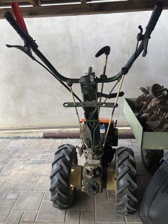 Motocultivator cu pornire la cheie