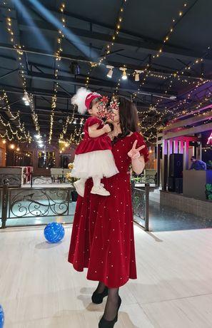 Продам платье мама и дочь