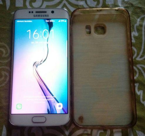 Продам срочно Samsung S6 edge в хорошем состоянии