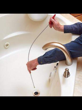 Прочистка канализации, прочистка труб, чистка унитаза, чистка труб