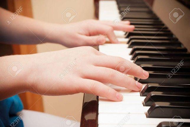 Научитесь играть на фортепиано.Для детей и взрослых.Возможно онлайн