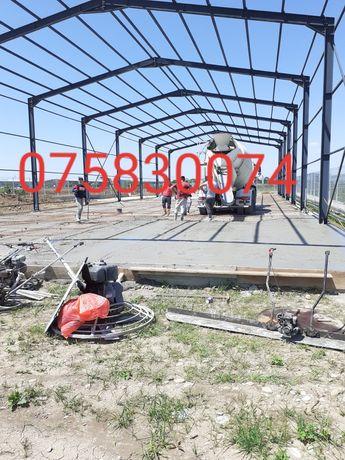 Vând hale metalice 14m cu 30m