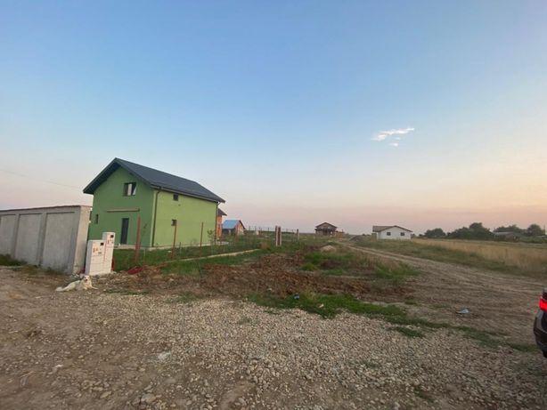 Vand teren Adunații Copaceni,parcele, case in costructie pe teren !