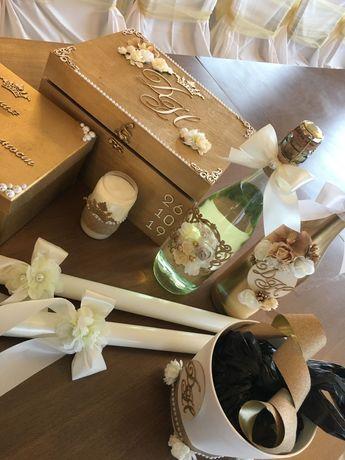 Аксесоари (комплект) за сватба, кръщене и моминско парти