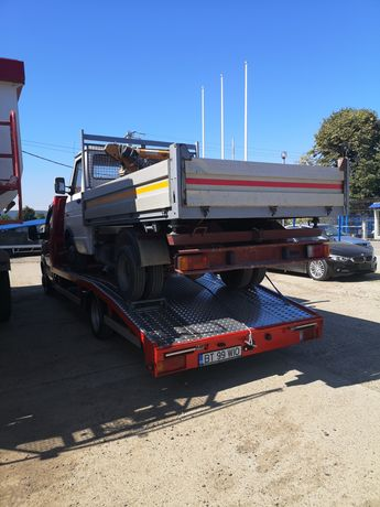 Transport auto. Asistenta rutiera. Tractări auto trailer Botosani