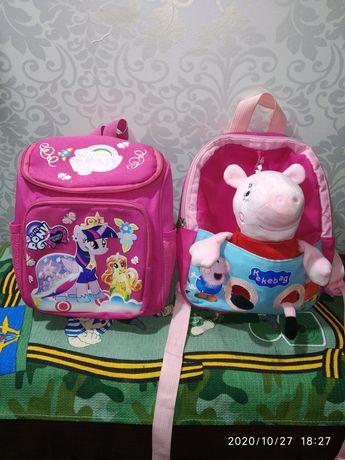 Маленькие рюкзаки для садика