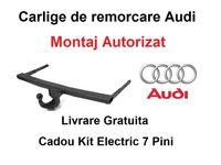 Carlig Remorcare Audi A4 Sedan 2000-2005 Livrare Gratuita - Omolgat