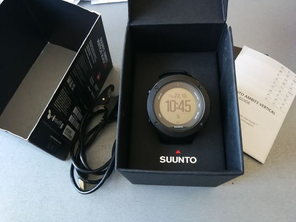Часовник с GPS Suunto Ambit 3 Vertical All Black