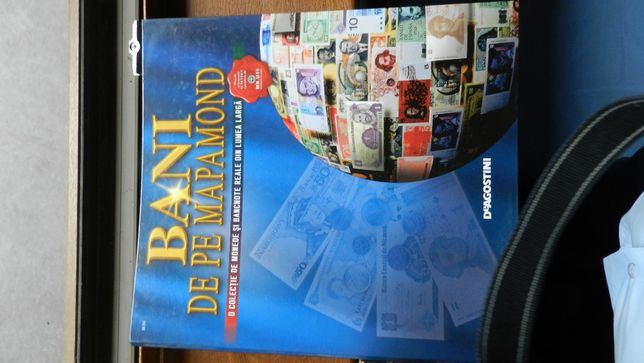 Lot reviste - Bani de pe mapamond Deagostini - 25 buc. in biblioraft