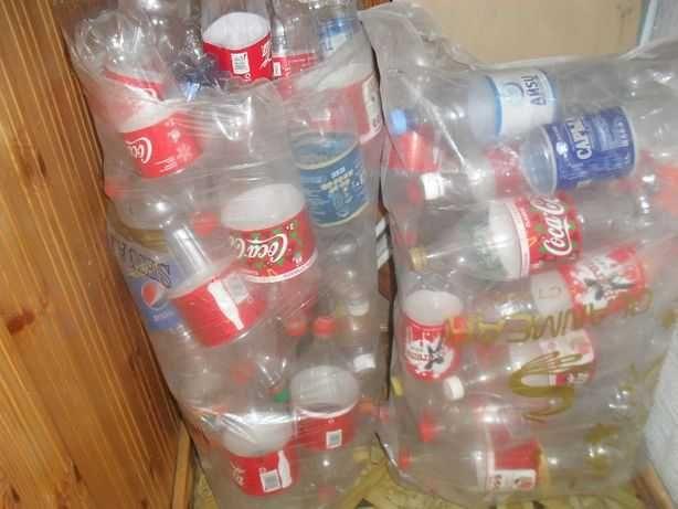 Пластиковые бутылки 15 тг