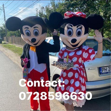Mascotele Mickey si Minnie