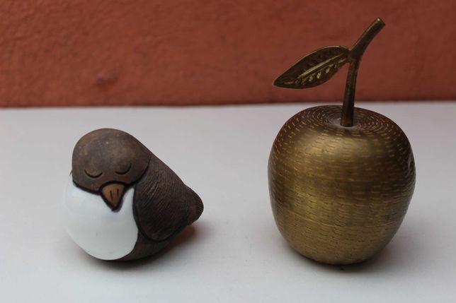Pasare ceramica de colectie CASALS - PERU, lucrata manual, cca 1980