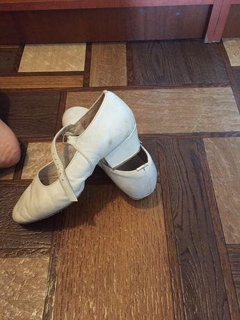 Туфли для хореографии кожаные