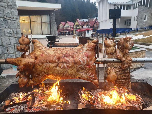 Protap rotisor animale - vitel purcei miei nunti botezuri evenimente