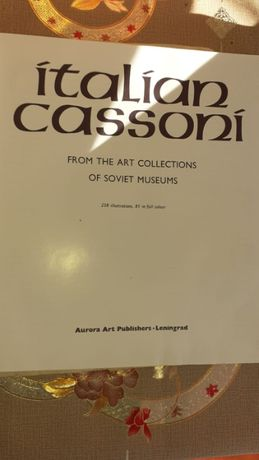 cassoni from the art collection of soviet museum