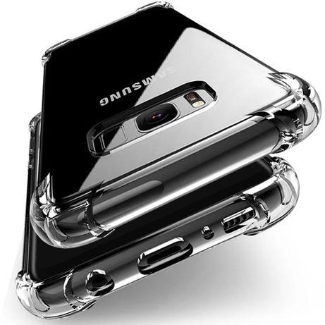 Samsung S6/S7/S8/S9/ Note 9/A7 удароустойчив протектор кейс гръб case