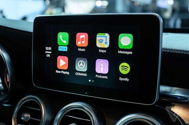 Activare CarPlay AndroidAuto Mercedes-Benz A B CLA CLS GLA GLE M GLS