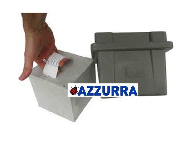 Testare beton /Tipar prelevare PROBE BETON 150x 150x 150 mm