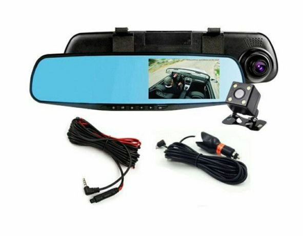 Oglinda auto,camera dubla fata spate,video full HD